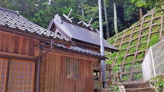 人文研究見聞録:久佐加神社 [島根県]