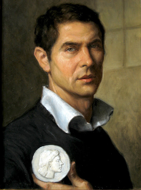 Matthew James Collins,  International Art Gallery, Self Portrait