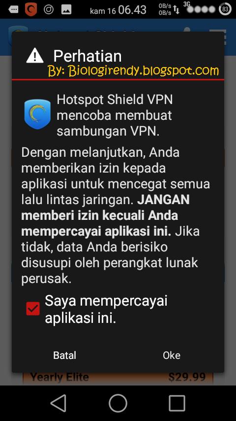 hotspot shield IZINKAN