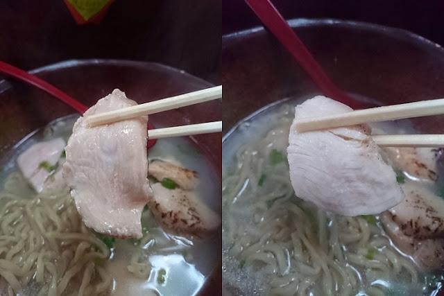 炙り鶏モモ肉と鶏ムネ肉の写真