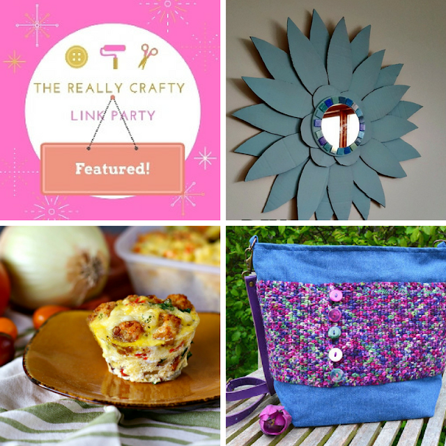 The Really Crafty Link Party #117 featured posts