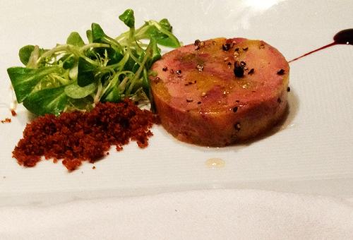 Cafe Boulud Foie Gras Terrine