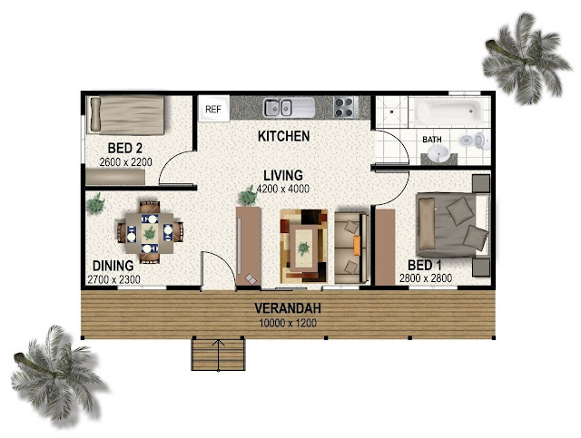 floor plans for granny pods