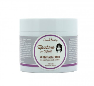 Maschera capelli rivitalizzante Greenatural