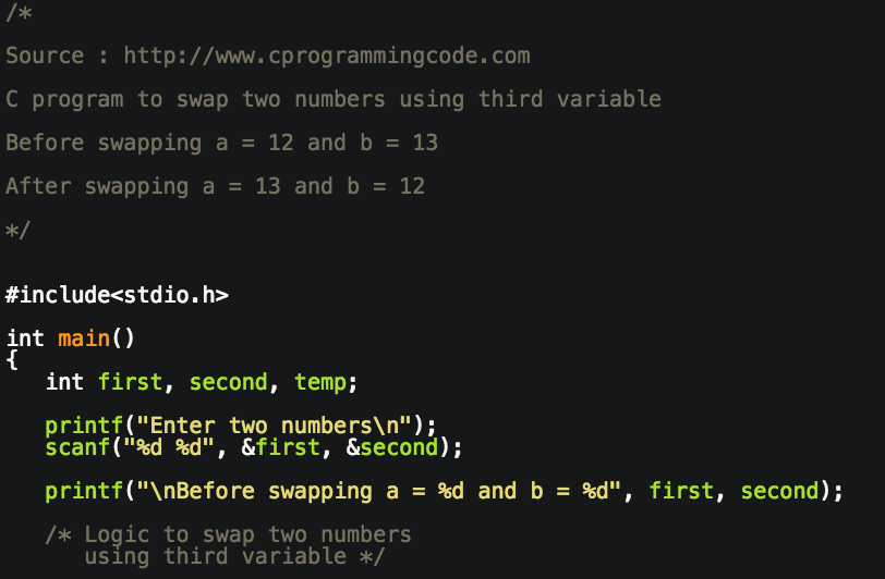 Swap two variables using XOR