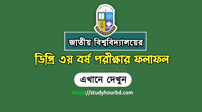 Degree 3rd Year Result 2018