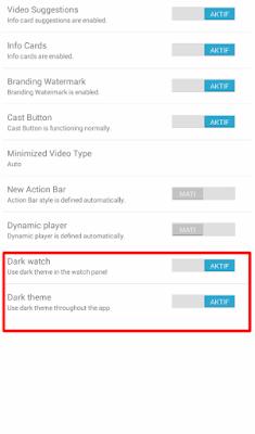 Cara Mengubah Tampilan Youtube Android ke Fitur Dark Mode