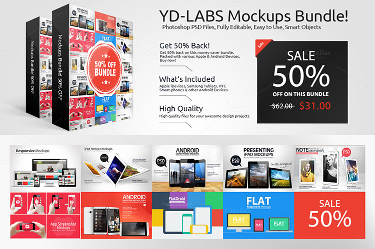 Devices Mockups Bundle Deal