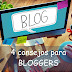 4 Consejos para Bloggers