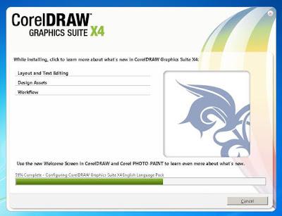 Cara Instal CorelDRAW X4 Agar Full Versi Menggunakan PsiKey.dll tanpa Keygen (Serial Number)