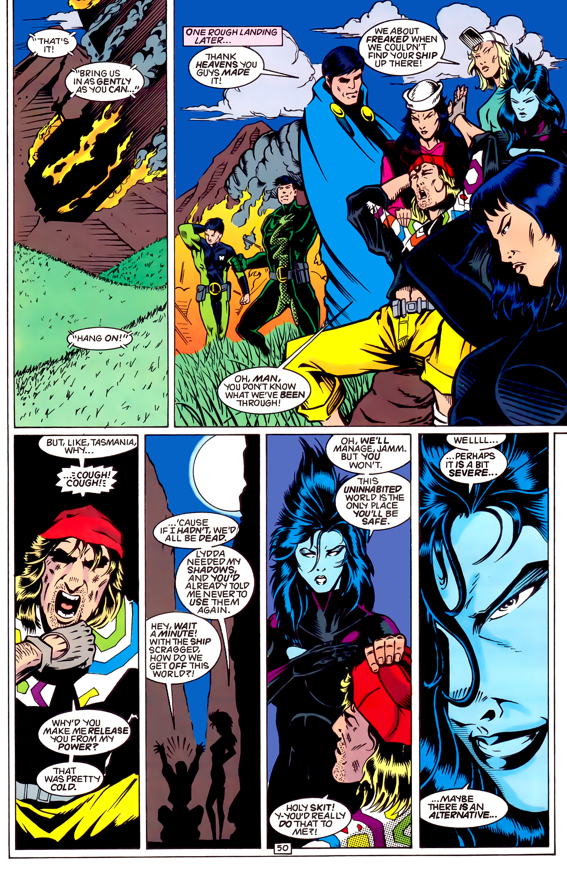 Legion of Super-Heroes (1989) _Annual_4 Page 50