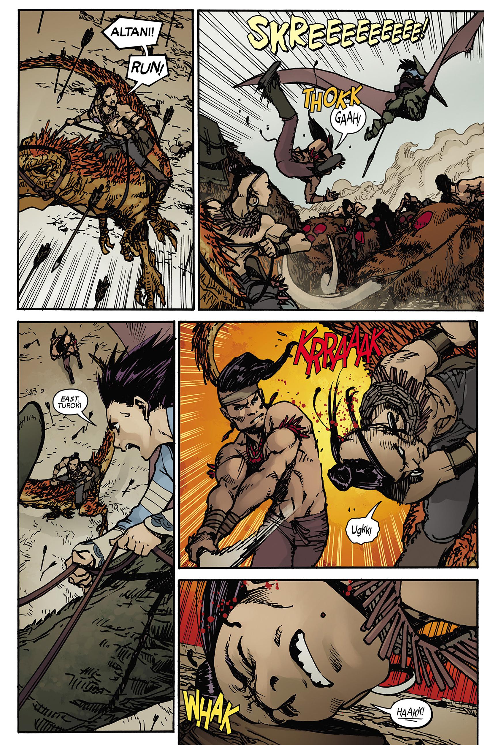 Read online Turok: Dinosaur Hunter (2014) comic -  Issue #5 - 20