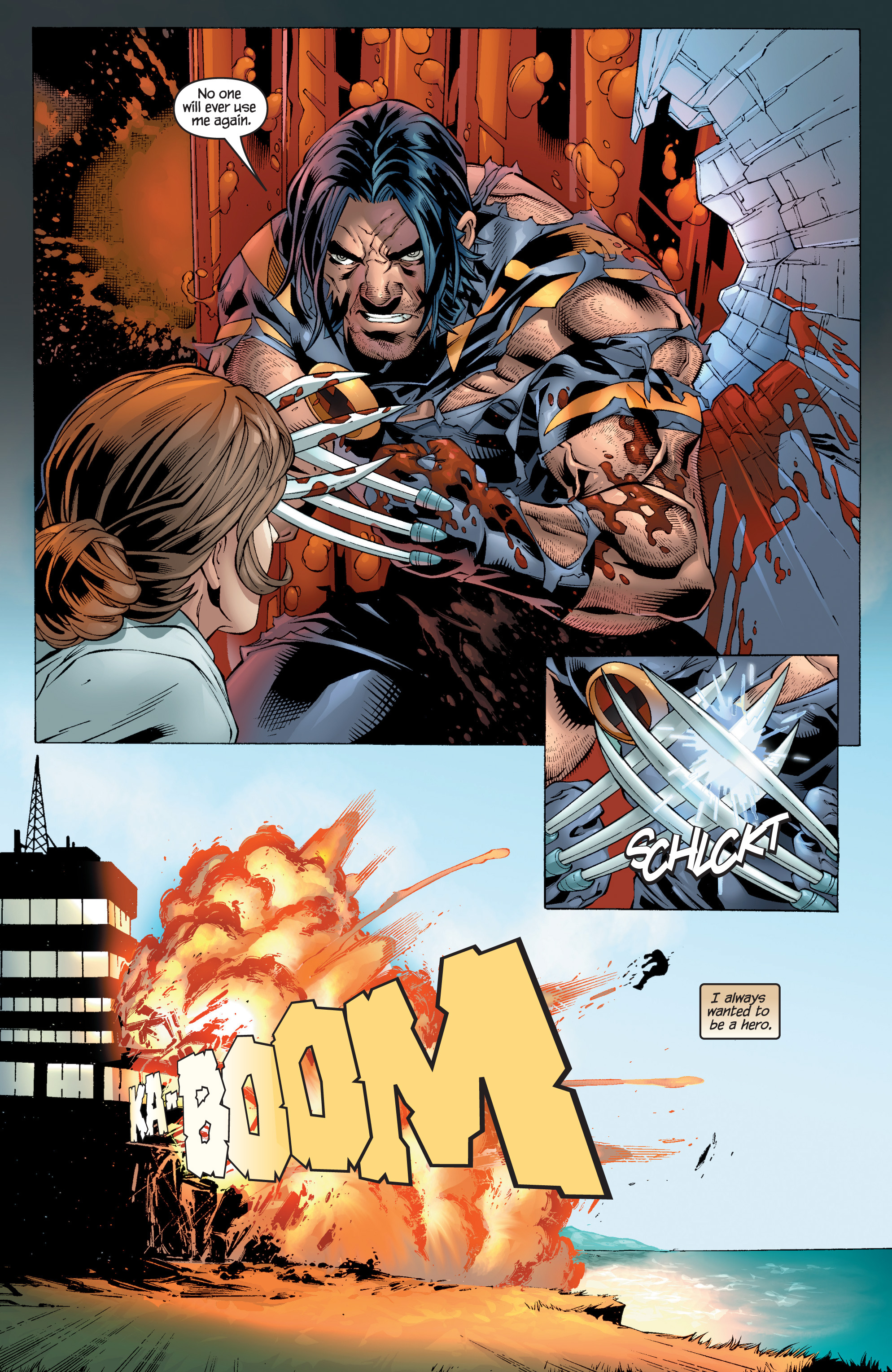 Read online Ultimate X-Men comic -  Issue #97 - 23