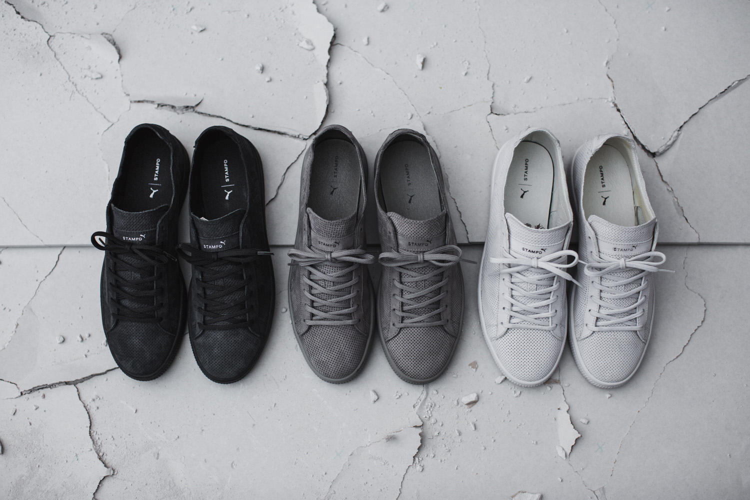 revendeur b3c09 6a374 Swag Craze: PUMA and STAMPD Drop The New '96 Hours' Collection