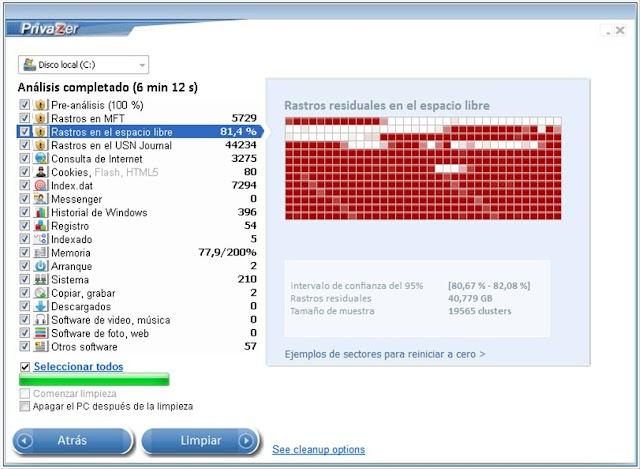 PrivaZer - Programma gratuito per pulire il sistema dai file inutili che occupano spazio su disco