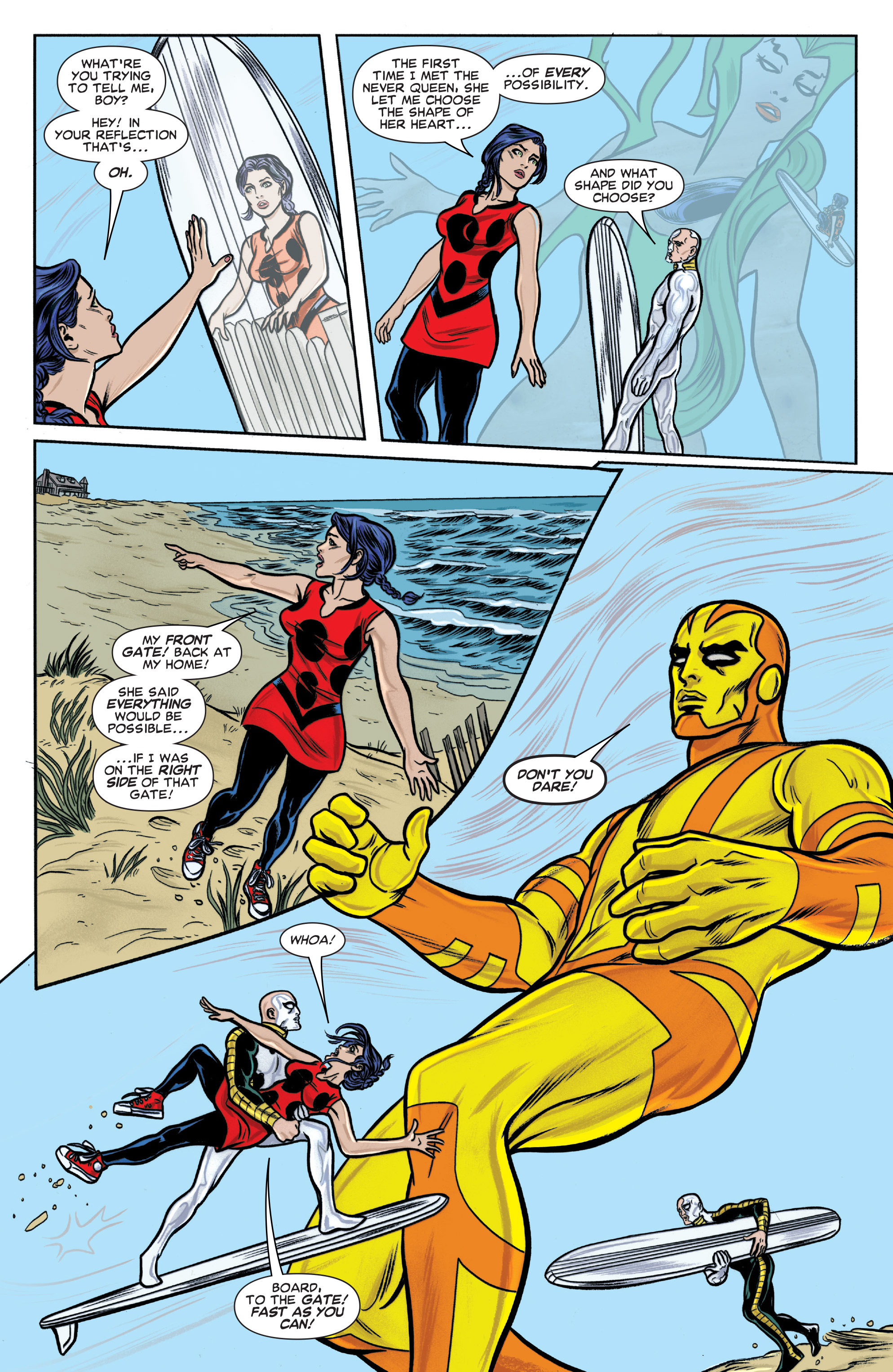 Read online Silver Surfer (2014) comic -  Issue #15 - 13