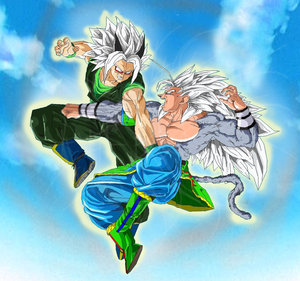 Dragon Ball AF Two heroes