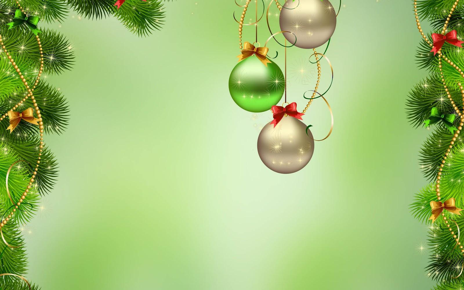 Groene 3D kerst achtergrond  Mooie Leuke Achtergronden