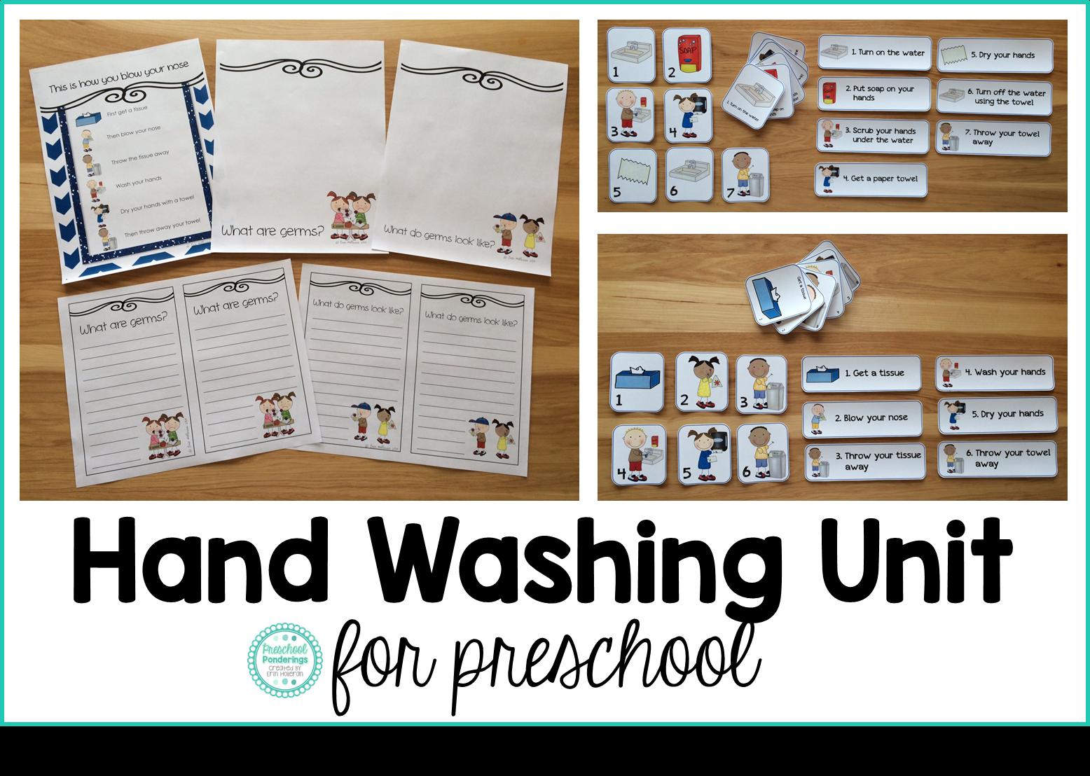 Preschool Ponderings Fighting Germs In Preschool