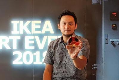 IKEA Berkolaborasi Dengan Seniman Indonesia Ciptakan Figurine Kaca