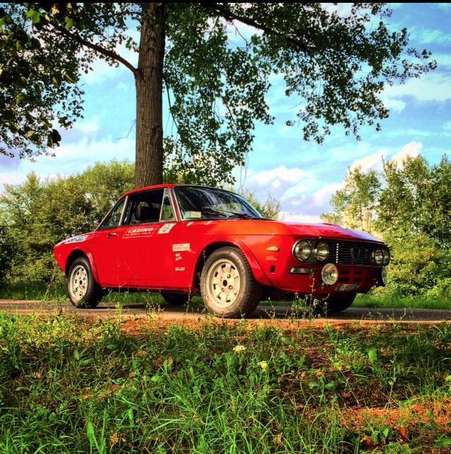 1972 Lancia Fulvia Hf 1 6 Refitted To Participate In Fia Rallye Events