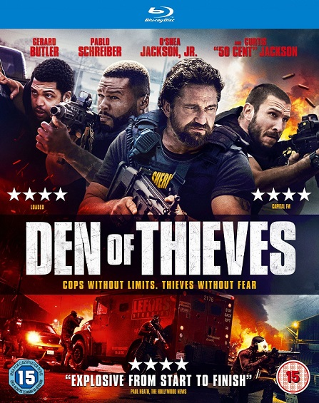 Den of Thieves THEATRICAL (El Robo Perfecto) (2018) 720p y 1080p BDRip mkv Dual Audio AC3 5.1 ch