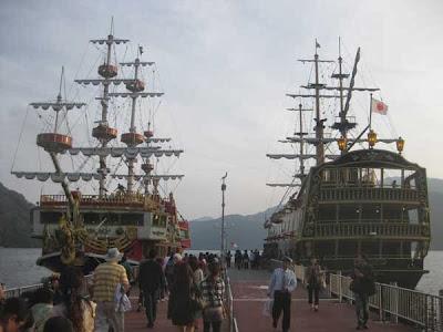 Free Pass Hakone Boats, Japan