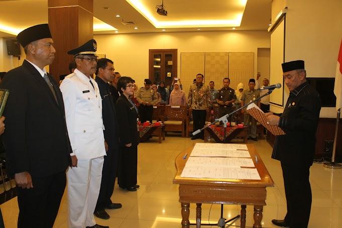 Walikota Lantik Tujuh Kepala Dinas