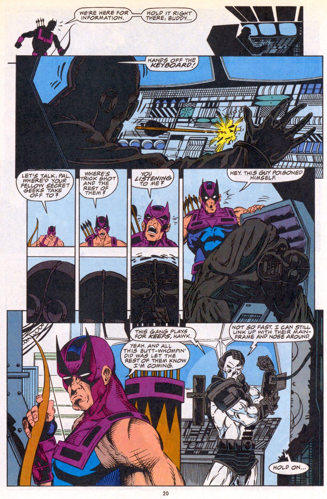 Hawkeye (1994) Issue #3 #3 - English 16