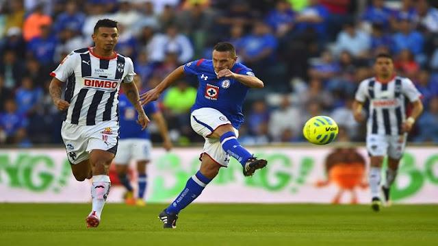 Ver Monterrey vs Cruz Azul en vivo online hoy