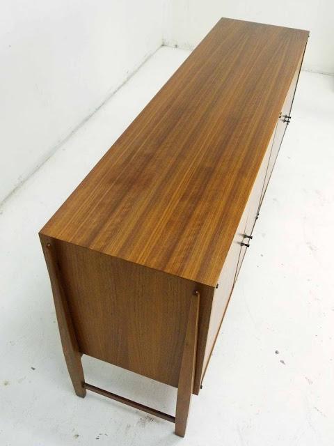 Kipp Stewart for Calvin Furniture Teak & Rosewood Sideboard American Design Foundation 4