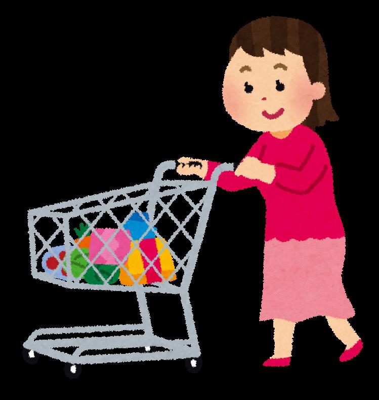 「買い物 いらすとや」の画像検索結果