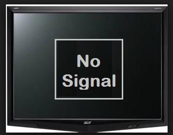 Tips dan cara mengatasi Monitor No Signal layar tidak tampil