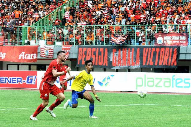 PERSIJA JAKARTA  HEMPASKAN KEPRI JAYA FC