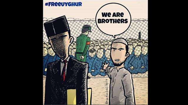 Jika Takut Mengecam RRC atas Penindasan Muslim Uighur karena Utang, Artinya Kita Tidak Merdeka Lagi