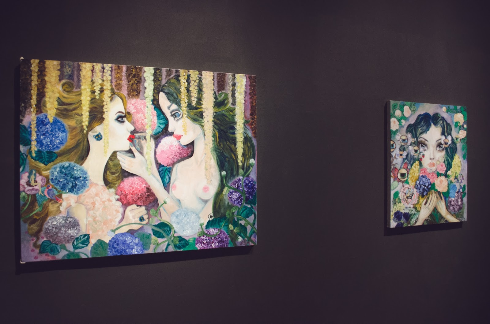 exposición de pintura Alisa Gromova