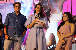 Actress Sonakshi Sinha at the Song Launch of Film Noor  0064.JPG