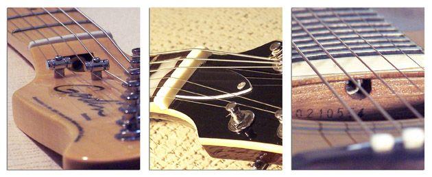 Situación del Tornillo del Alma del Mástil de la Guitarra