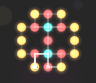 Solution, Cheats, Walkthrough for Neon Hack [Neon Dots] Level 47