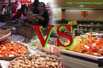 Definisi Perbedaan Pasar Tradisional dan Modern