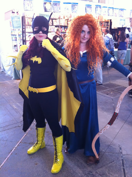 Batgirl en la Comic Con Spain 2012