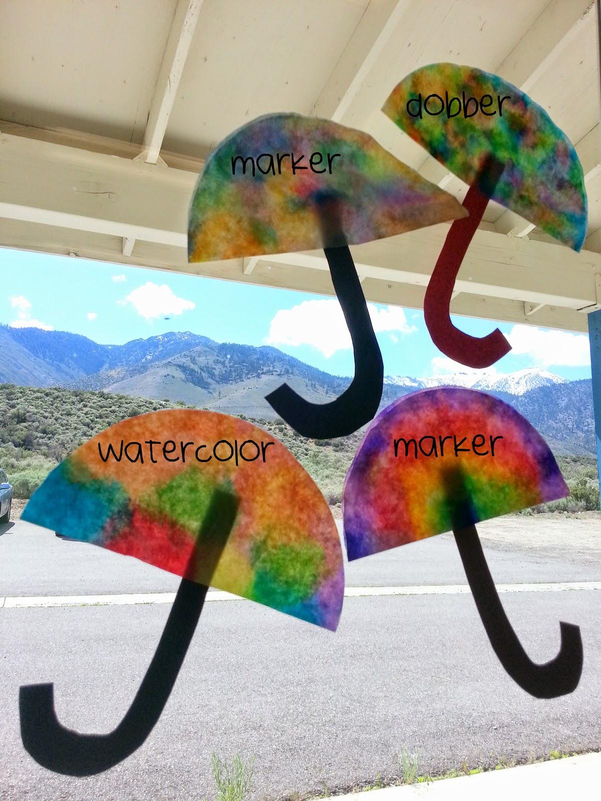 Choices For Children Rainy Day Umbrellas