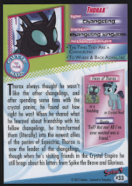 MLP Thorax Series 4 Trading Card
