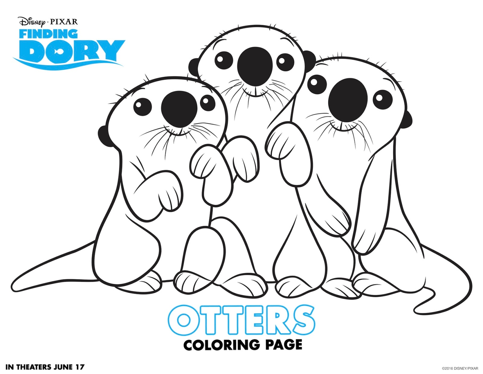 Free Printable Finding Dory Activity Sheets