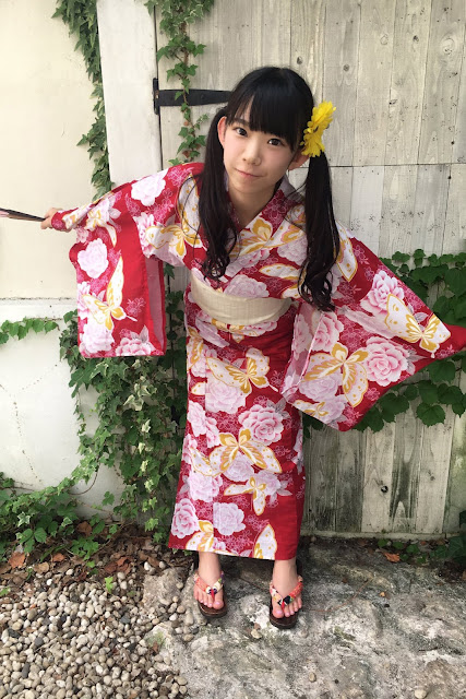 Nagasawa Marina pakai kimono seksi dan manis