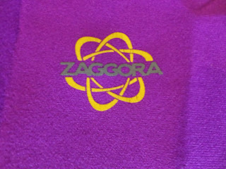 Zaggora logo on my Hot Pants