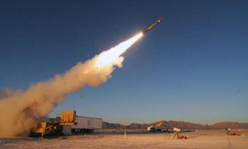 Penembakan rudal PAC-3 MSE