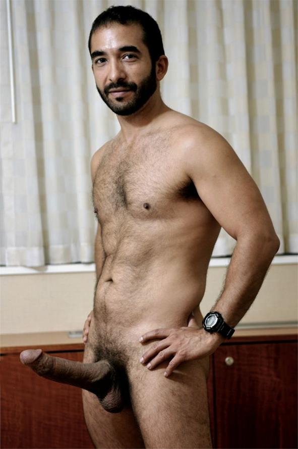 hairy arabian men