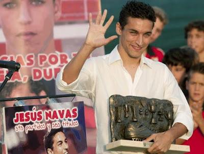 Jesús Navas vuelve al Sevilla FC