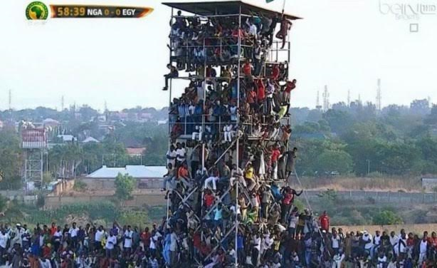 a CAF fines Nigeria $5,000 for overcrowding during match